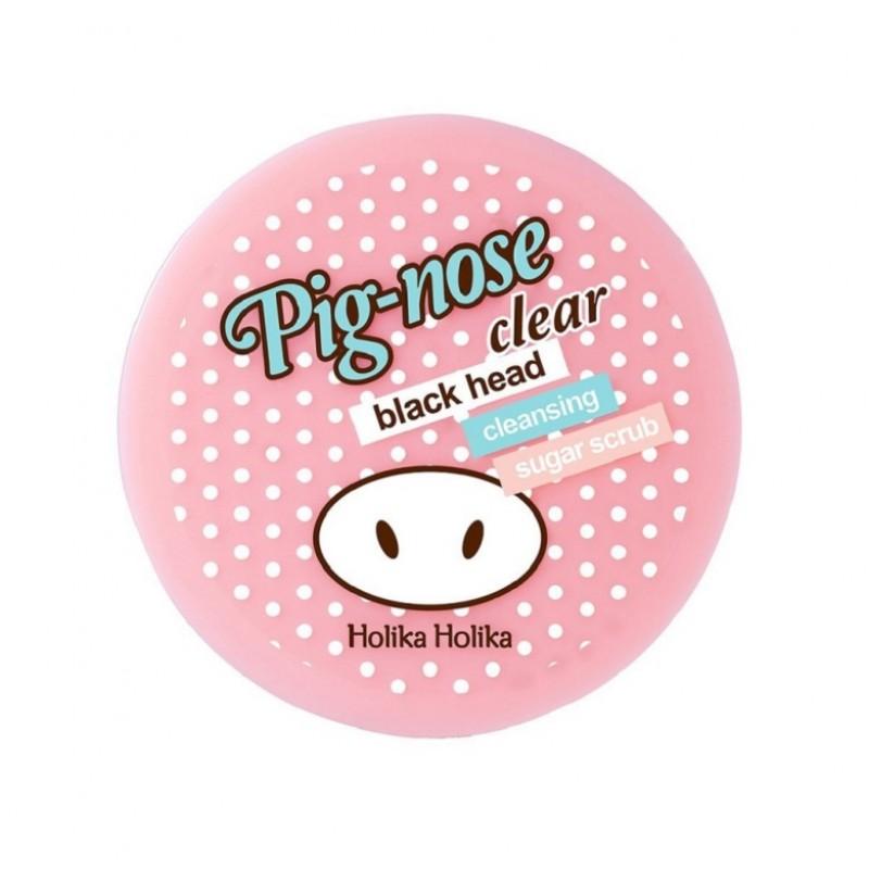 Scrub din zahar impotriva punctelor negre Pig Nose, 30 ml, Holika Holika