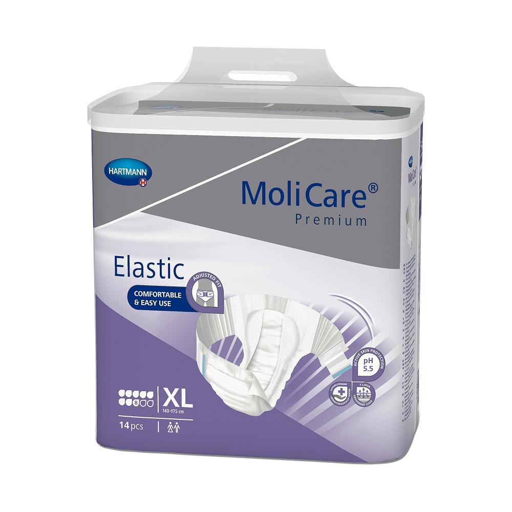 Scutece MoliCare Premium Elastic 8 picaturi XL (165474), 14 bucati, Hartmann