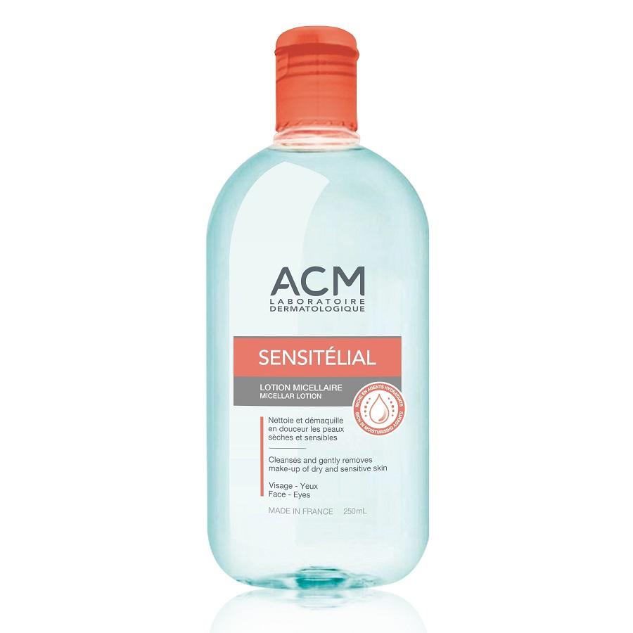 Loțiune micelară pentru față și ochi Sensitelial, 250 ml, Acm