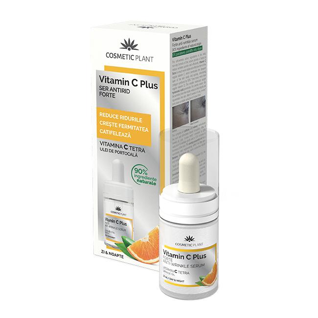 Ser antirid forte Vitamin C Plus, 15 ml, Cosmetic Plant