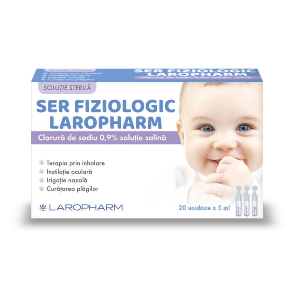 Ser Fiziologic, 20 unidoze, Laropharm