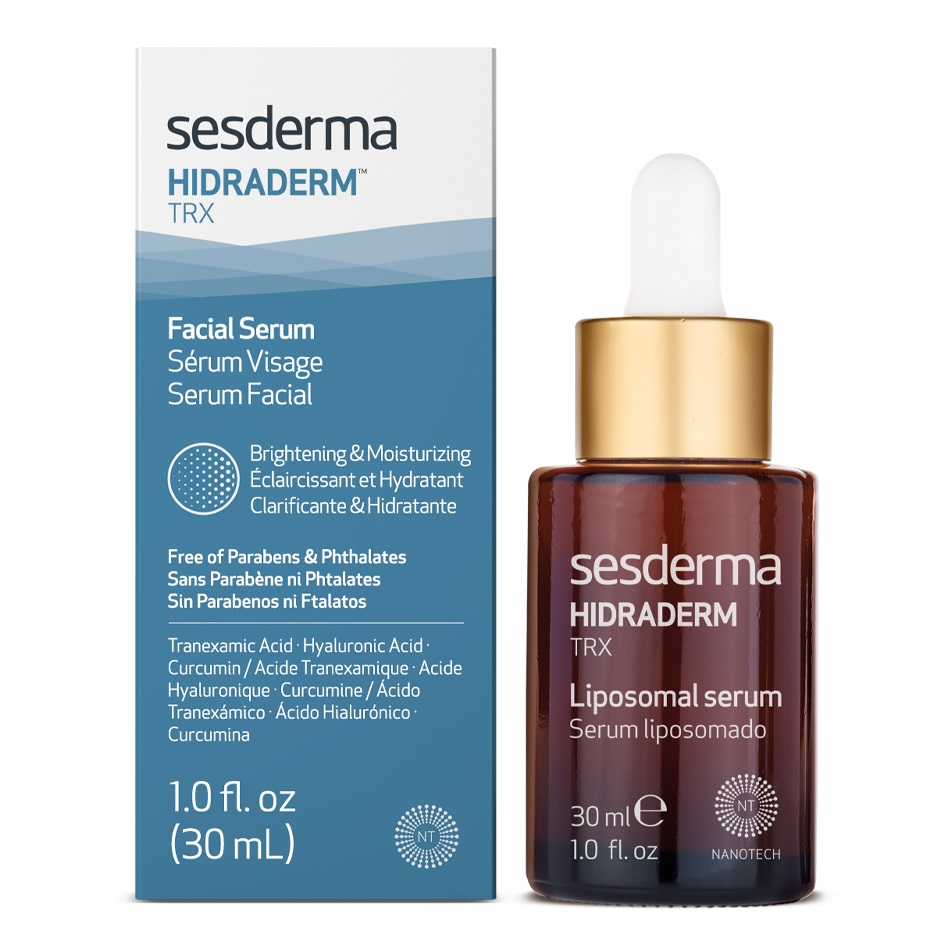 Ser lipozomal cu efect de hidratare si depigmentare Hidraderm TRX, 30 ml, Sesderma