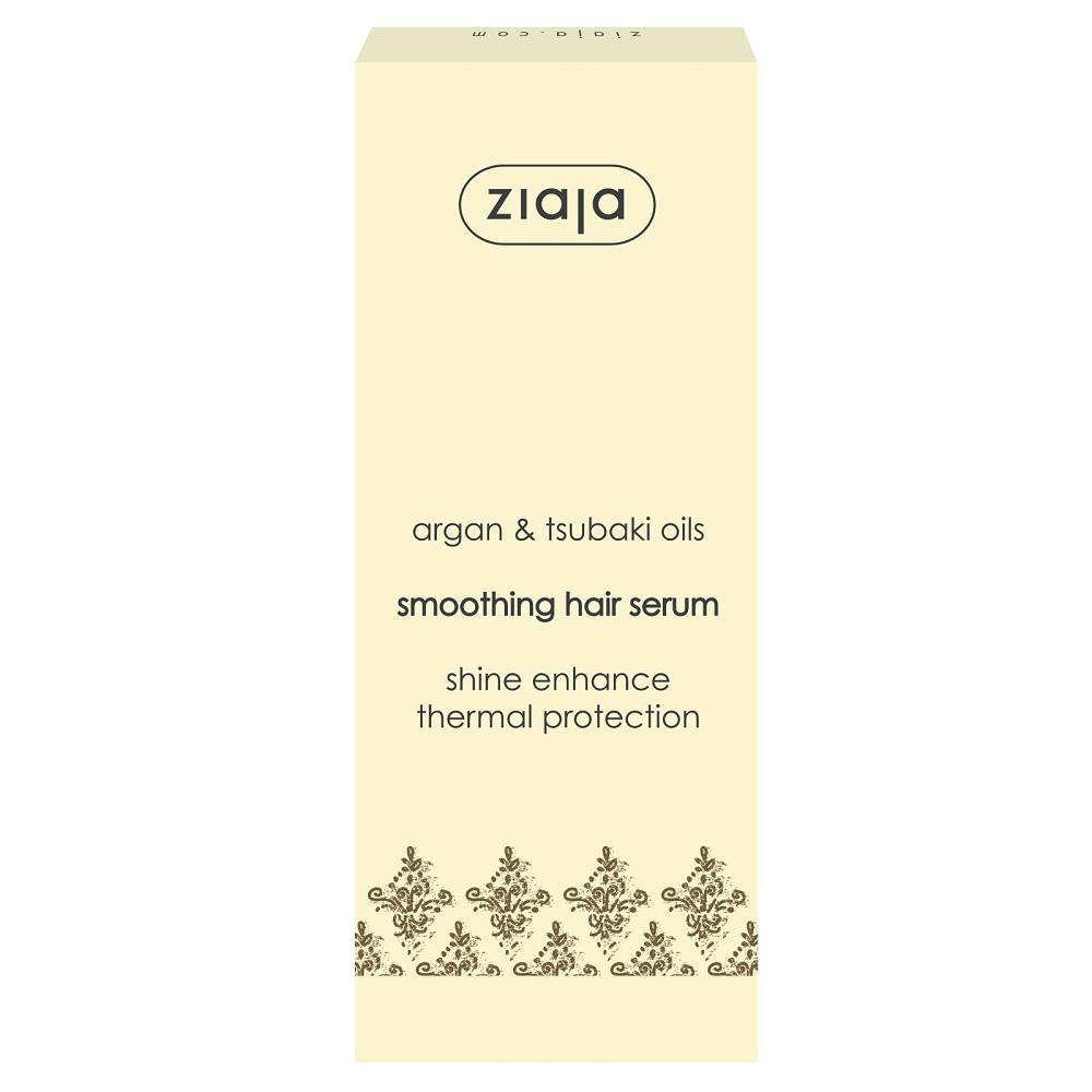 Ser pentru par uscat si deteriorat Natural Argan Oil, 50 ml, Ziaja