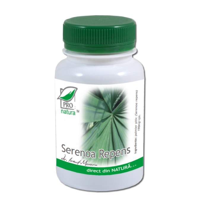 Serenoa repens, 60 capsule, Pro Natura