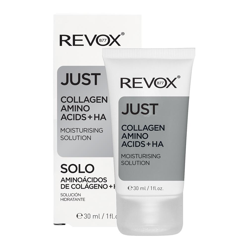 Serum hidratant Just Collagen amino acids + HA, 30 ml, Revox