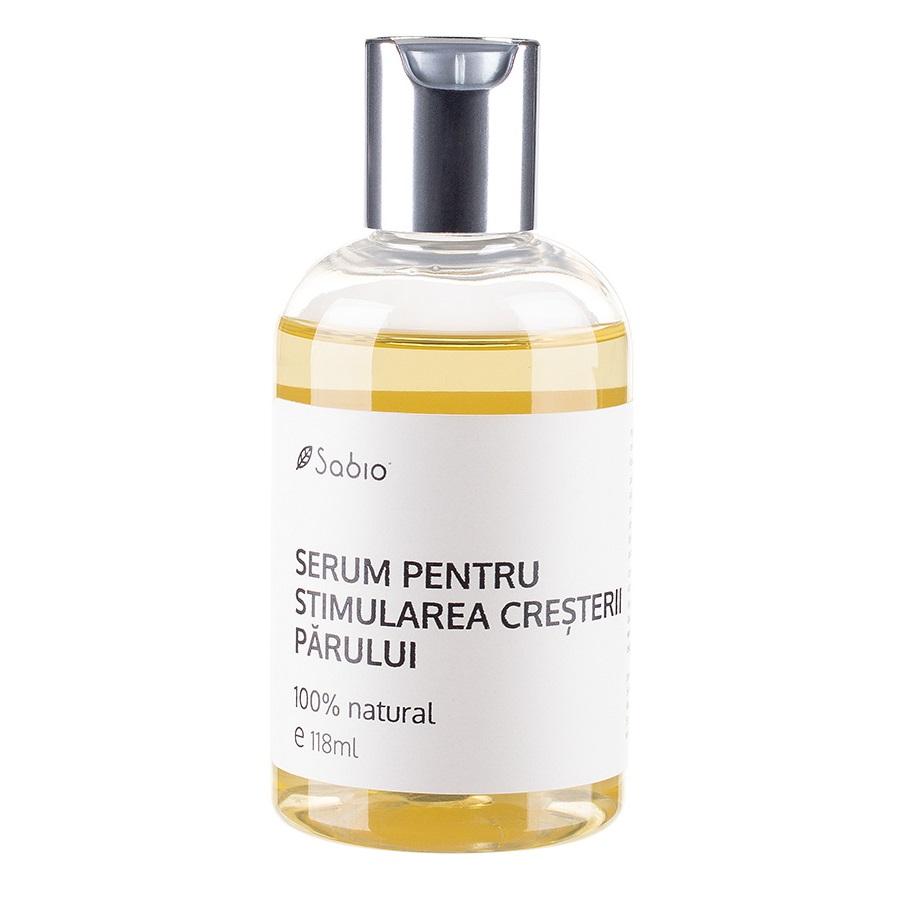 Serum pentru stimularea creșterii părului, 118 ml, Sabio