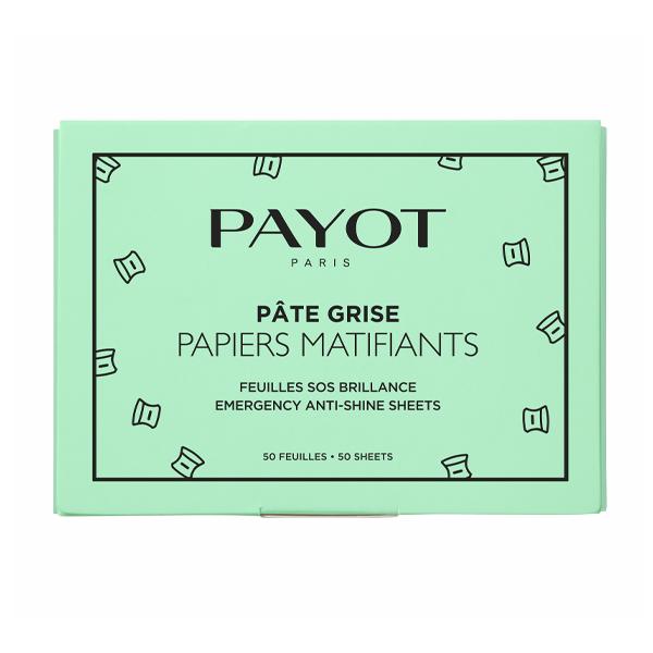 Șervețele matifiante Pate Grise, 50 bucăți, Payot