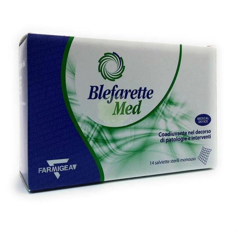 Servetele oculare sterile de unica folosinta Blefarette Med, 14 bucati, Farmigea