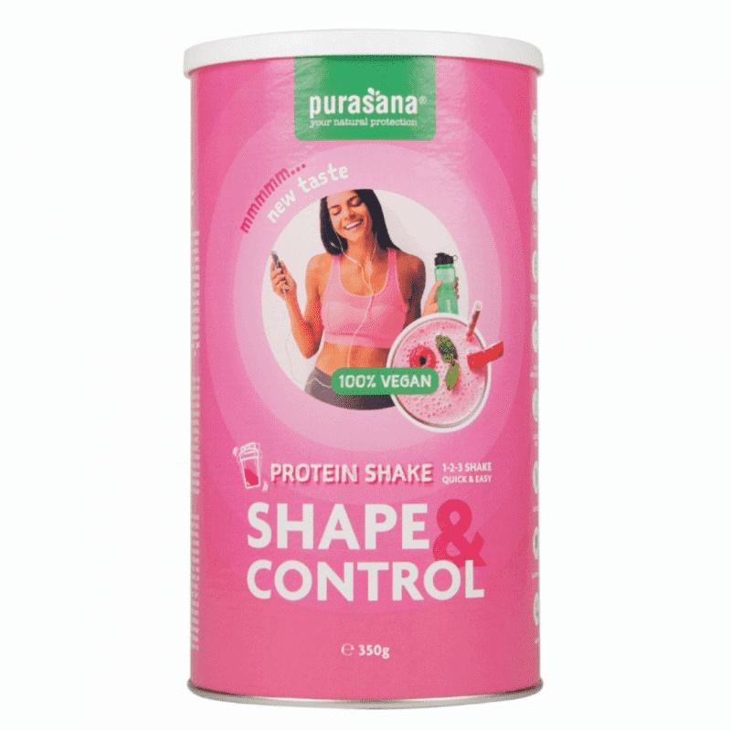 Shake proteic pentru slabit cu superalimente, 350 g, Purasana