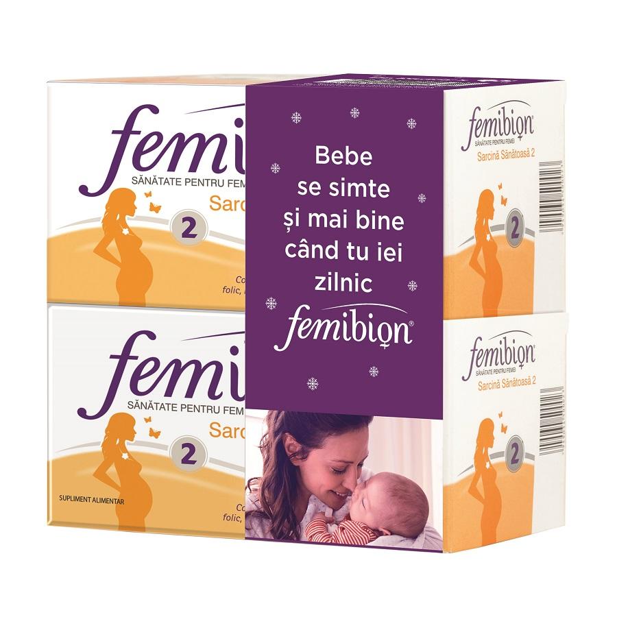 Femibion 2 sarcina sănătoasă, 60 comprimate + 60 capsule, Dr. Reddys