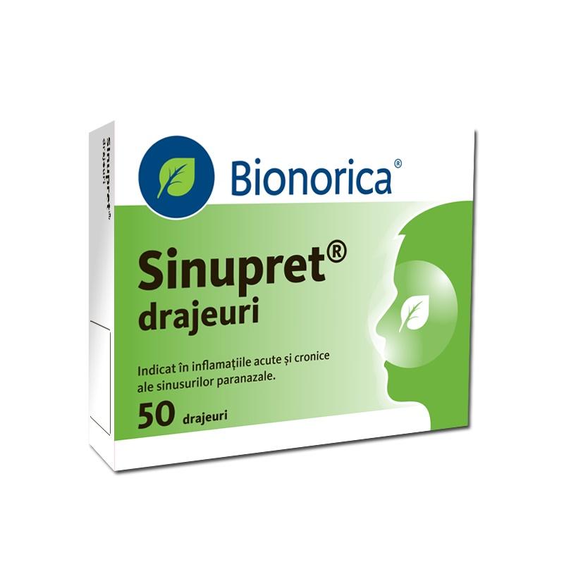 Sinupret, 50 drajeuri, Bionorica