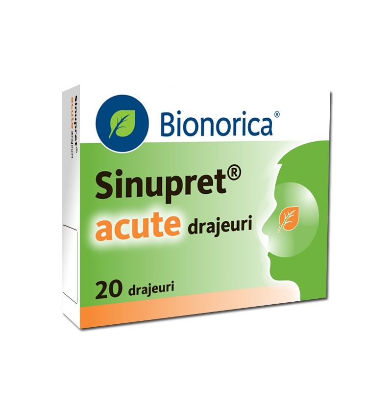 Sinupret Acute, 20 drajeuri, Bionorica