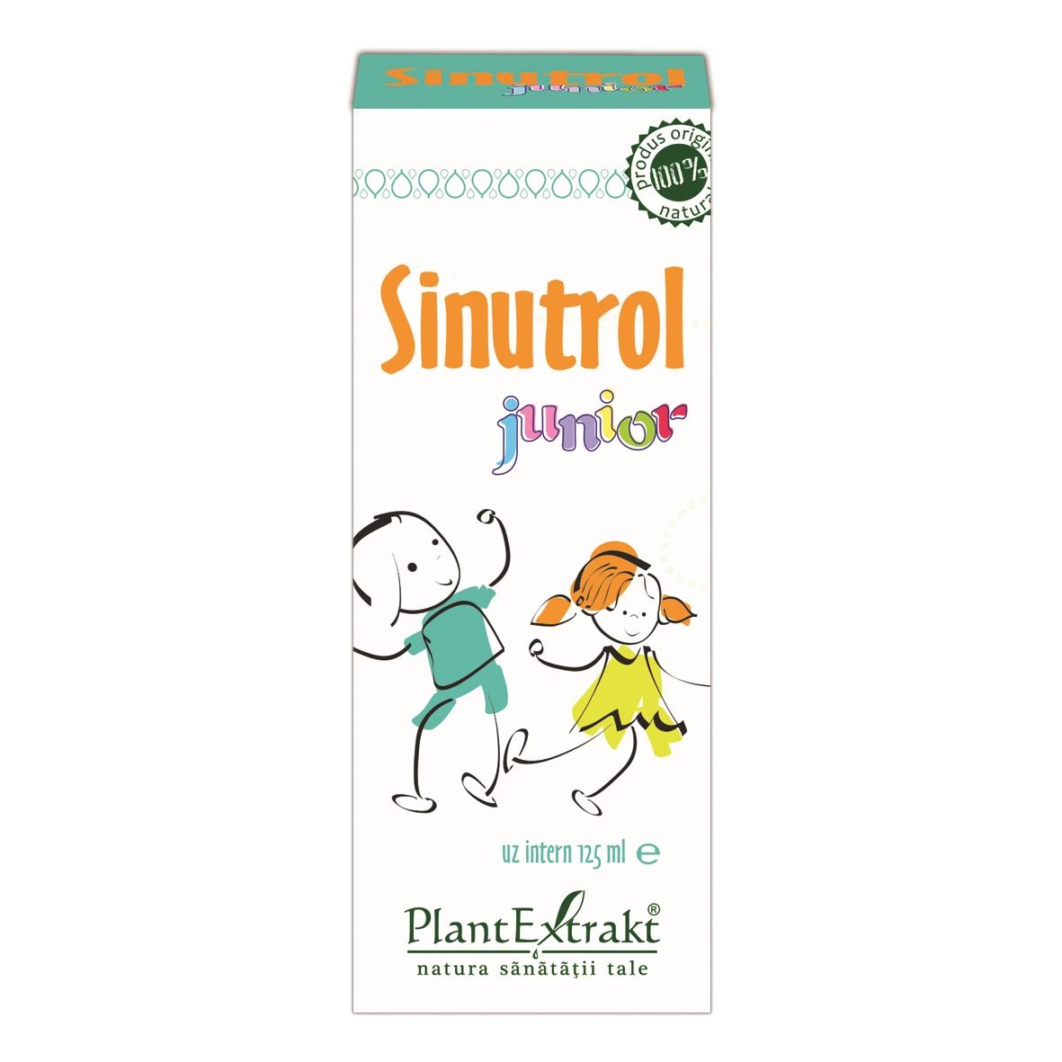Sinutrol Junior sirop, 125 ml, Plant Extrakt