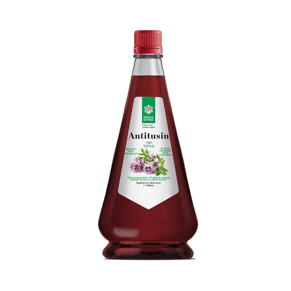 Sirop Antitusin, 250 ml, Steaua Divină
