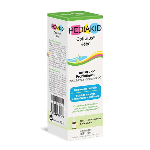 Sirop colici bebelusi Colicilus Bebe, 10 ml, Pediakid