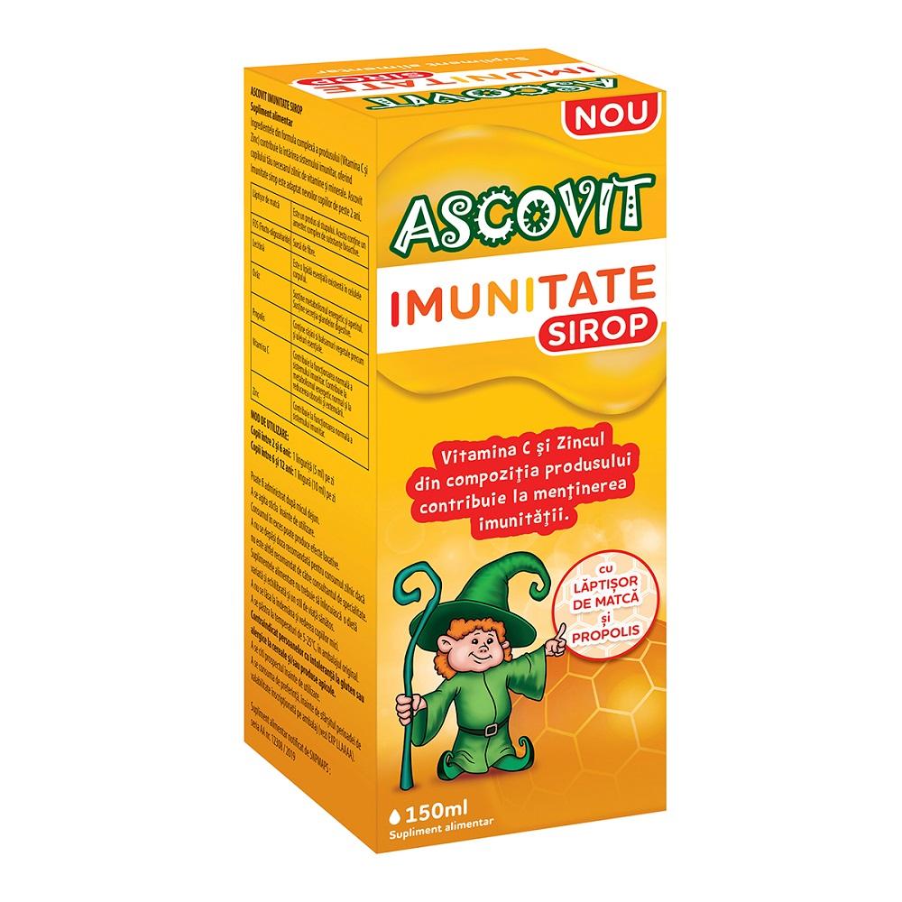 Sirop pentru imunitate Ascovit, 150 ml, Omega Pharma