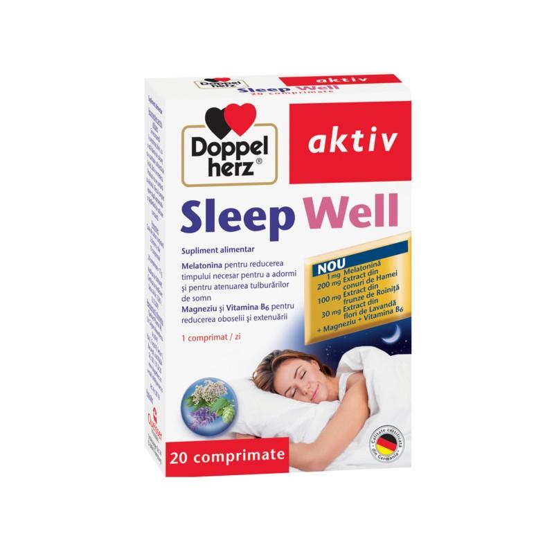 Sleep Well, 20 comprimate, Doppelherz