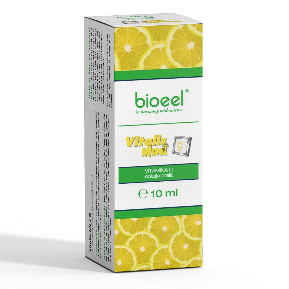 Soluție orală Vitamina C Vitalis Mini C, 10 ml, Bioeel