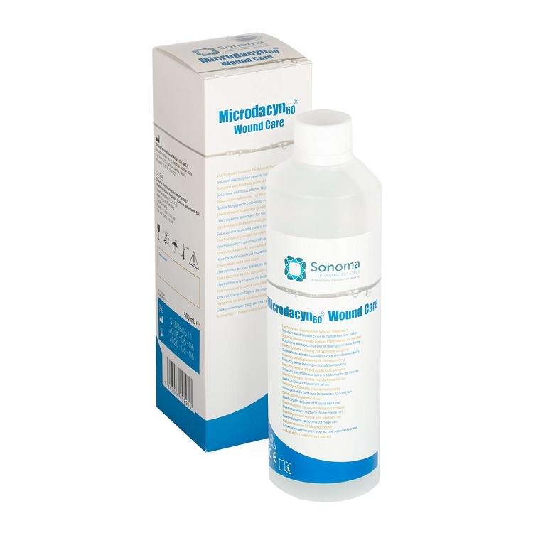 Solutie pentru dezinfectarea ranilor Microdacyn60 Wound Care, 250 ml, Sonoma