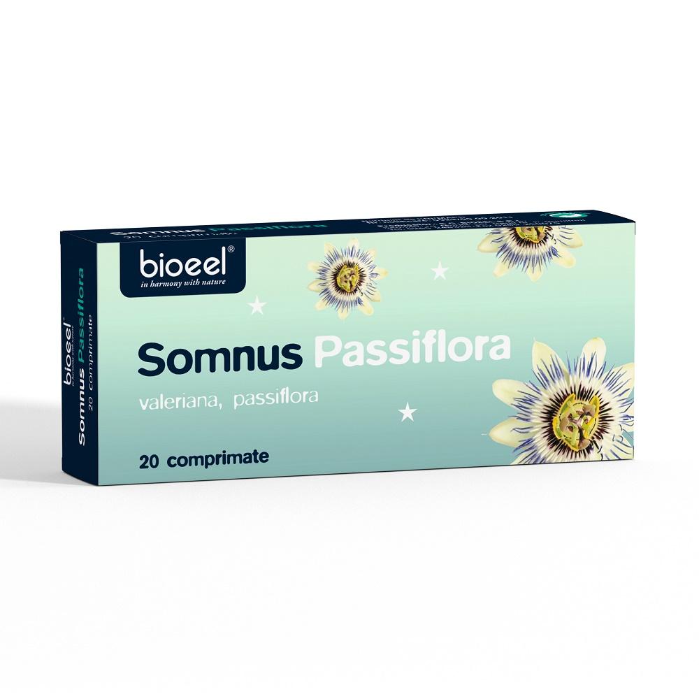 Somnus Passiflora, 20 comprimate, Bioeel