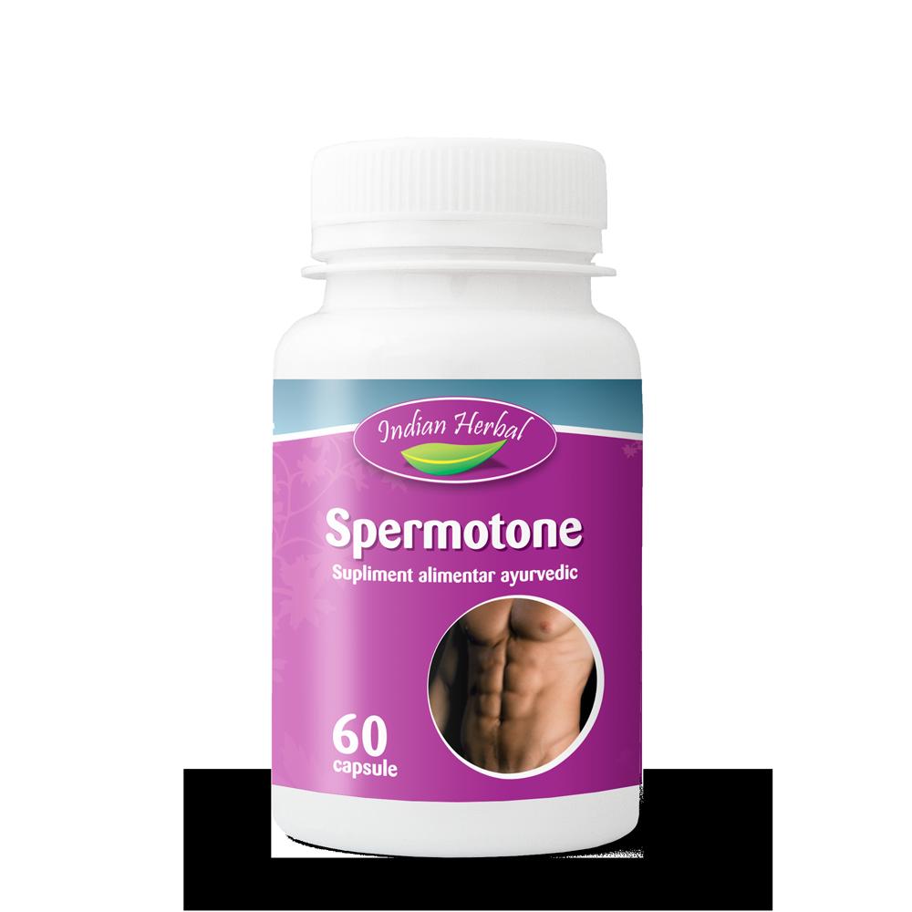 Spermotone, 60 capsule, Indian Herbal