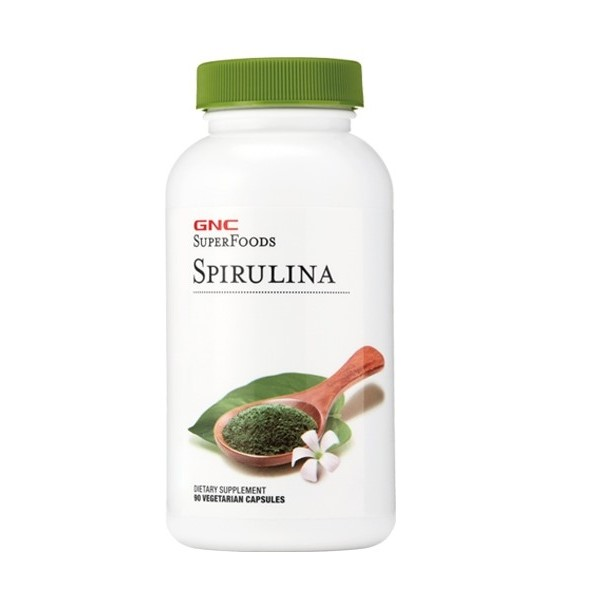 Spirulina 500 mg SuperFoods (422867), 90 capsule, GNC
