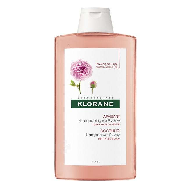 Șampon cu extract de bujor pentru scalp sensibil și iritat, 400 ml, Klorane