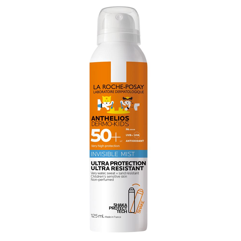 Spray cu aplicare usoara pentru copii cu SPF 50+ Anthelios Dermo Pediatrics, 125 ml, La Roche-Posay