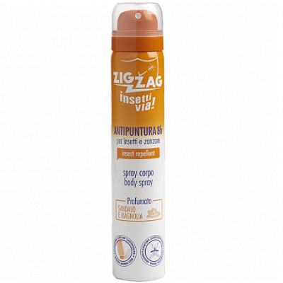 Spray de corp impotriva tantarilor si insectelor Santal, 100 ml, Zig Zag