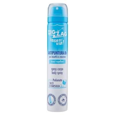Spray de corp impotriva tantarilor si insectelor Talc, 100 ml, Zig Zag