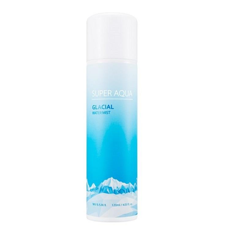 Spray facial cu efect calmant si 94% apa glaciara, 120ml, Missha