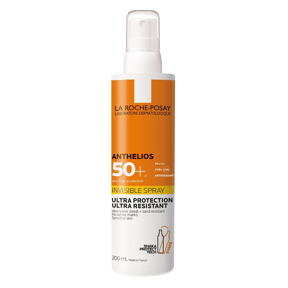 Spray invizibil SPF 50+ Anthelios, 200 ml, La Roche-Posay
