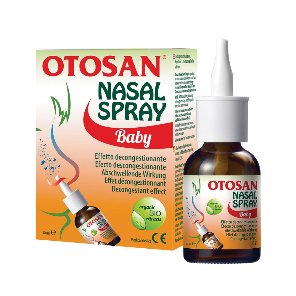 Spray nazal copii, 30 ml, Otosan