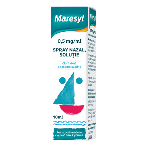 Spray nazal pentru copii Maresyl 0,5 mg/ml, 10 ml, Dr. Reddys