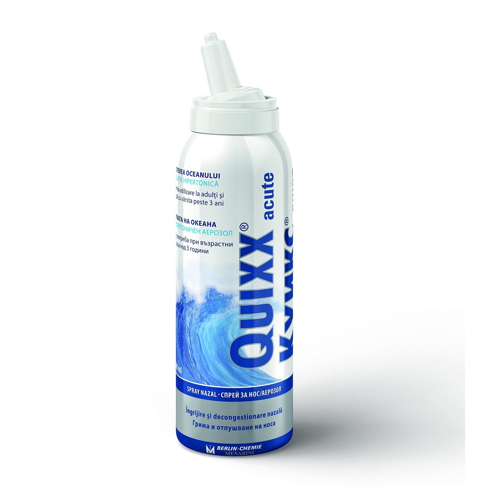 Spray nazal Quixx Acute, 100 ml, Pharmaster