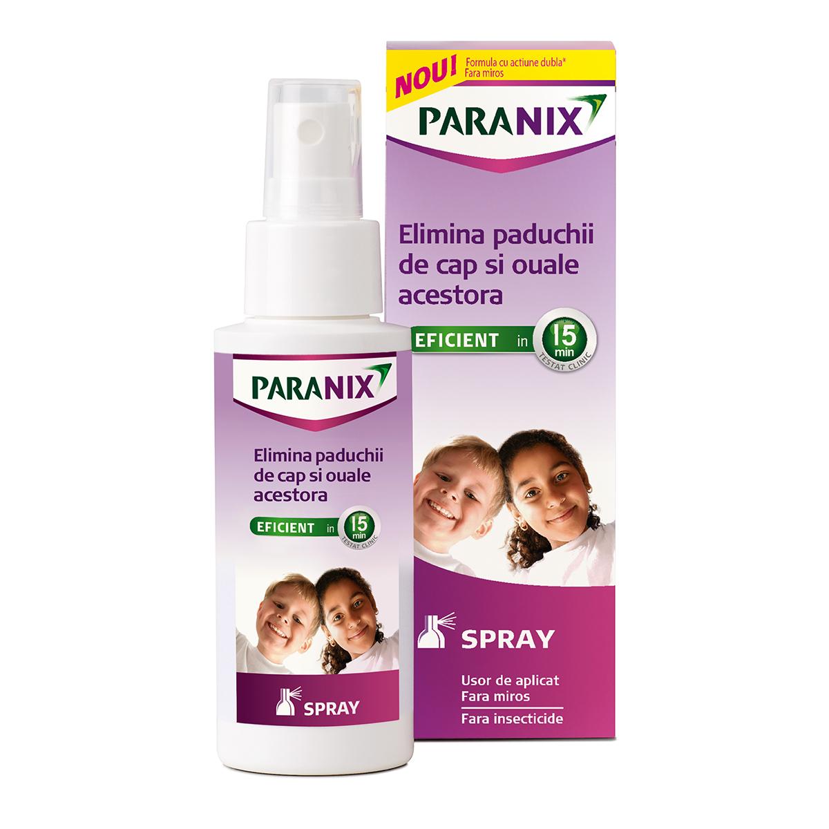 Spray Paranix antipaduchi, 100 ml, Omega Pharma