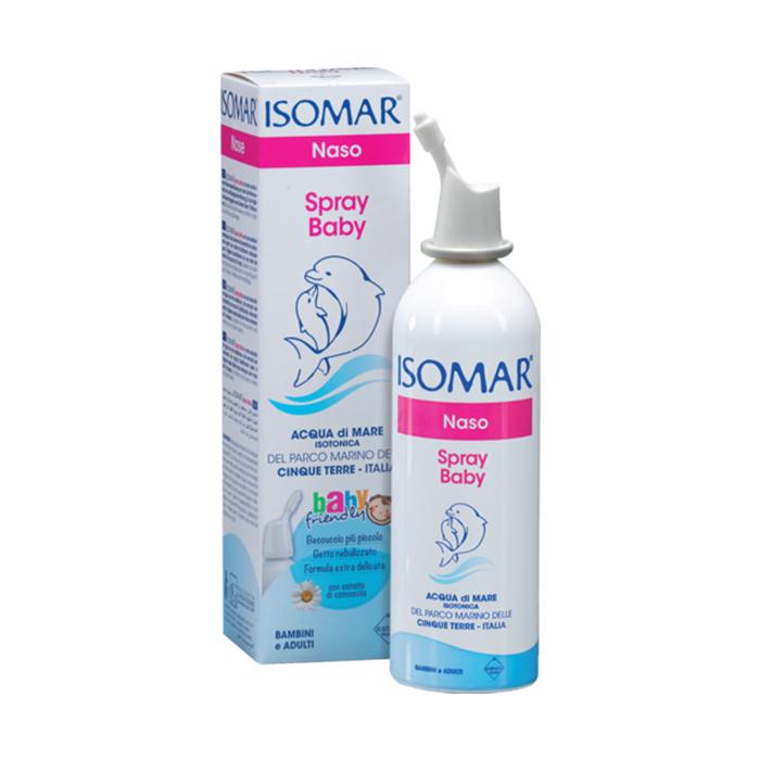 Spray pentru nas Isomar Baby, 100 ml, Euritalia