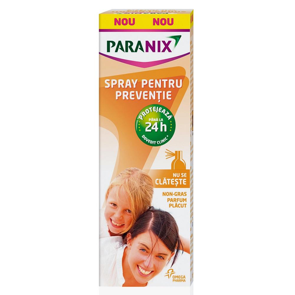 Spray pentru prevenție Paranix, 100 ml, Omega Pharma