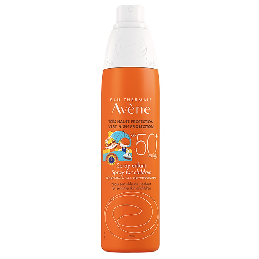 Spray protectie solara pentru copii SPF 50+, 200 ml, Avene