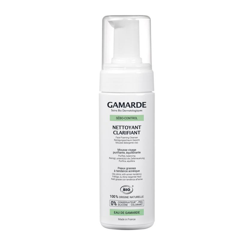 Spuma de curatare pentru ten tanar cu tendinta acneica, 160 ml, Gamarde