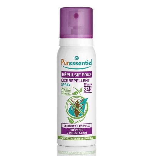 Spray Repelent anti-paduchi, 75 ml, Puressentiel