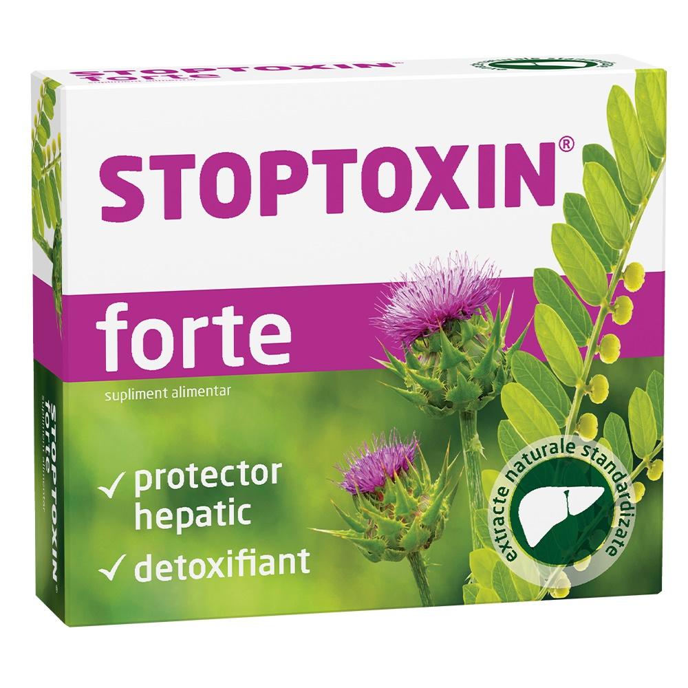 Stoptoxin Forte, 30 capsule, Fiterman