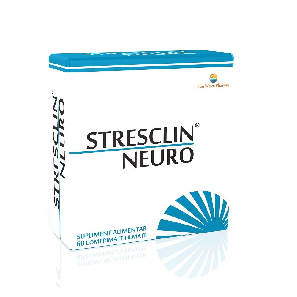 Stresclin Neuro, 60 comprimate, Sun Wave Pharma