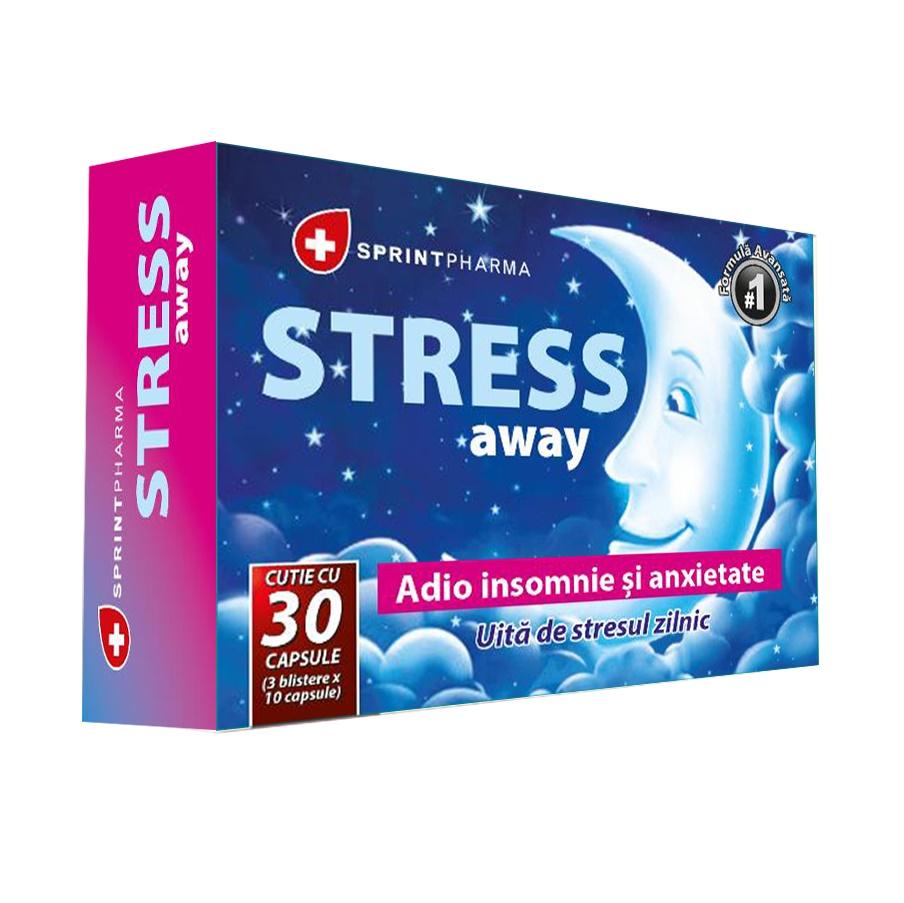 Stress Away, 30 capsule, Sprint Pharma