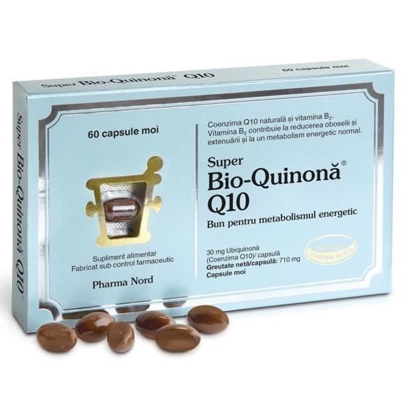 Super Bio-Quinona Q10 30 mg, 60 capsule, Pharma Nord