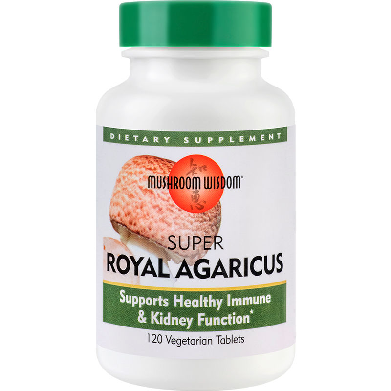 Super Royal Agaricus Mushroom Wisdom, 120 tablete, Secom