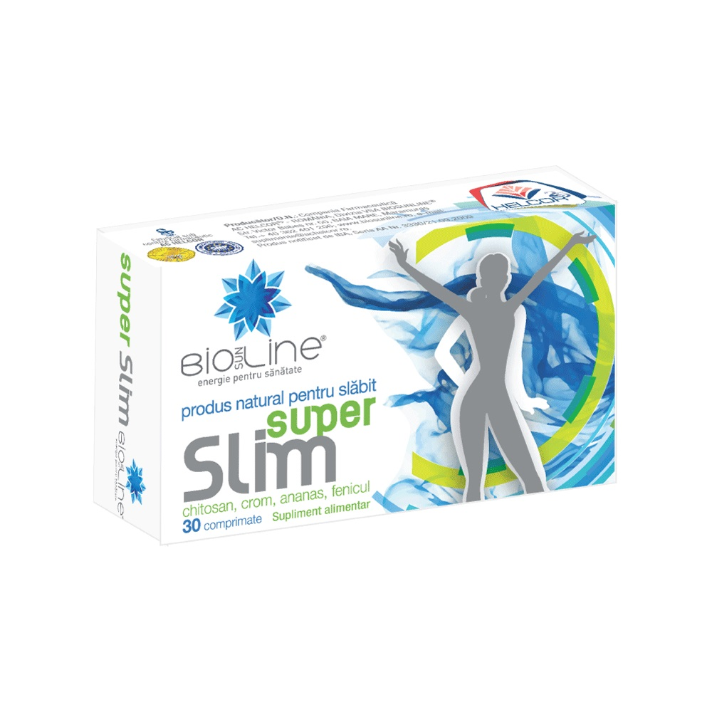 Super Slim, 30 tablete, Helcor