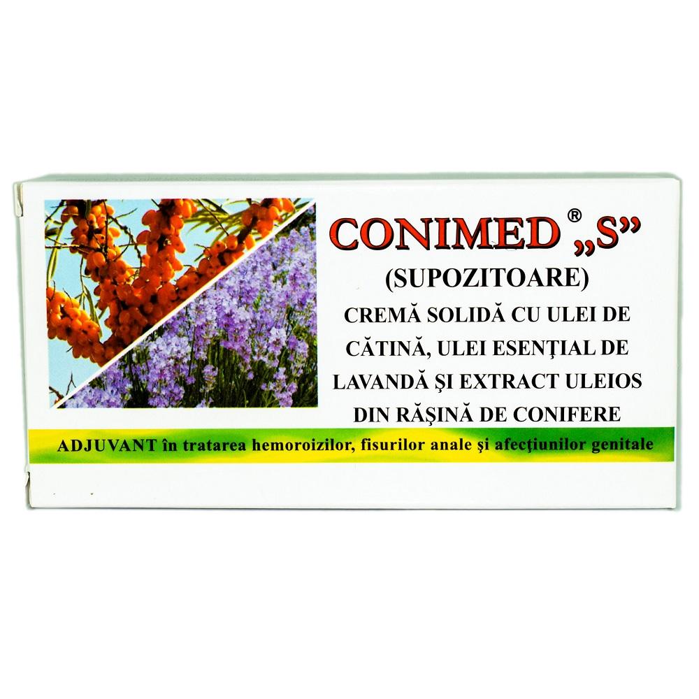 Supozitoare Conimed S, 10 supozitoare, Elzin Plant