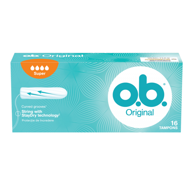 Tampoane OB Original Super, 16 bucati, Johnson&Johnson