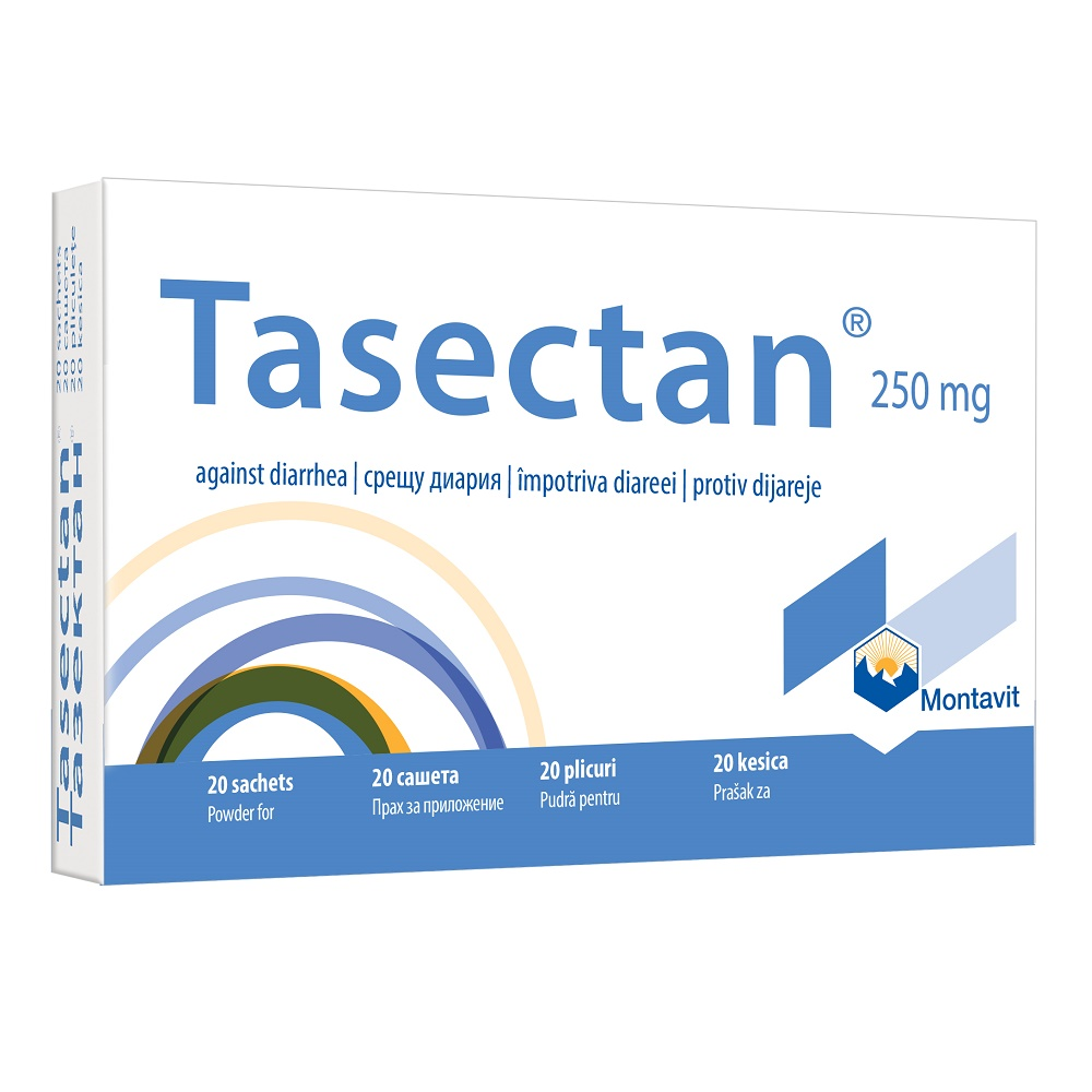 Tasectan 250 mg, 20 plicuri, Montavit